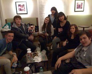 Des élèves de l'école Promiseland à Vienne avec Lucas